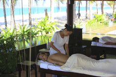 How about a relaxing back massage close to the beach?