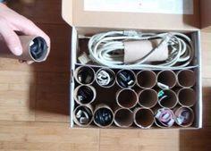 organiser ses cables et chargeurs