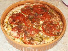 Η ποσότητα των υλικών εξαρτάται απο το μέγεθος του πήλινου Υλικά: Φέτα Πιπερία πράσινη Ντομάτα Ρίγανη Ελαιόλαδο Ταμπάσ...