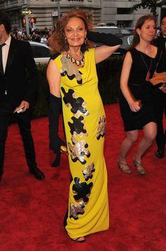 Met Gala 2012 - Diane Von Furstenberg