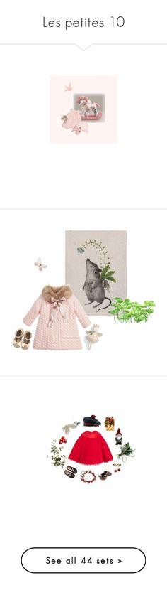 """Les petites 10"" by kissfromhanoi ❤ liked on Polyvore featuring Kate Mack, Il Gufo, Jellycat, Armani Junior, Pier 1 Imports, Cartier, Chanel, Department 56, Jenny Bird and MiMiSol"