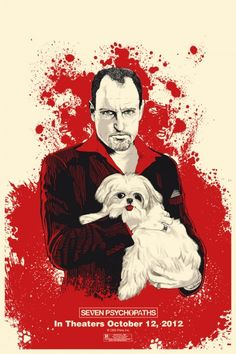 Win a Seven Psychopaths Limited Edition Poster by Chris Thornley
