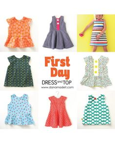 First Day Dress Pattern