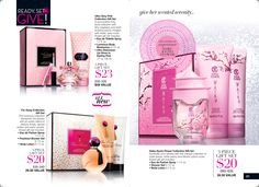 AVON C24 valid until 11/8/15 great time of year, lots of fragrance sets and on sale too!! I admit I don't care for most Avon scents, but they make great gifts for those who do like them!!   www.yourAvon.com/rplattharendza