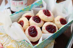 Thumbprint Cookies ~ Daddy's favorite cookies!