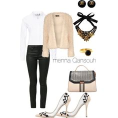 #peachy #styles #fashion #love #fashionista #outfit #musthave #shopping #instafashion #style #instastyle #fashionable #instagood #mode #clothes #ladys #glamorous #women #stylist by menna-qansouh on Polyvore featuring polyvore, fashion, style, Jane Norman, ONLY, OPUS Fashion, Rupert Sanderson, BCBGMAXAZRIA, Novarese & Sannazzaro, Chanel and Marni