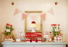 Vintage Strawberry Shortcake Party by Hello Love Designs