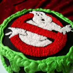 Ghost Busters cake.. maybe for Timmy's cake