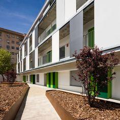 Juan Pedro Donaire Arquitectos, SSW Arquitectos, Fernando Alda · Residence Hall  for the University in Seville