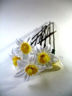 Ballet Hair Accessories Bun Pins Decorative Daisy by BabyBunheads, £5.39