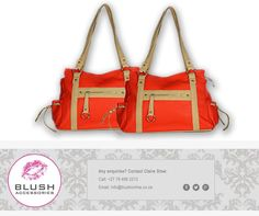 Women love bright colours and pretty things. This pretty handbag from combines the best of both and is the perfect accessory to stand out this weekend. Bright Colours, Hand Bags, Africa, Blush, Pretty, Accessories, Women, Light Colors, Vivid Colors
