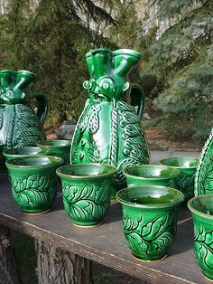 Miska kancsó szett Kamra, Homeland, Ceramic Art, Hungary, Old Photos, Folk Art, Pottery, Ceramics, Traditional