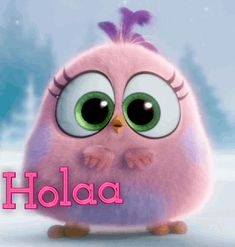 The perfect AngryBird Hola HolaAmigos Animated GIF for your conversation. Discover and Share the best GIFs on Tenor. Morning Images, Good Morning Quotes, Gif Animé, Animated Gif, Gifs, Spanish Quotes, Cartoon Wallpaper, Cute Cartoon, Cute Wallpapers