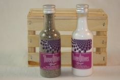 Three Olives Grape Salt and Pepper Shaker by CountryRichDesigns