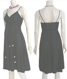 1970s Vintage Empire Waist Disco Dress | NeldasVintageClothing - Clothing on ArtFire