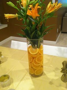 citrus themed parties | Felicia's Event Design and Planning: Baby Shower - Orange/Citrus Theme