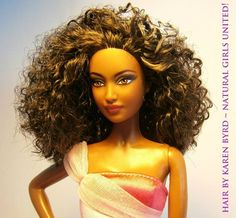 Naturally Beautiful Hair: Natural Hair Inspired Dolls - New!