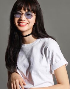 Nana, Rocking her clothes and Groovy Sunglasses. Japanese Models, Japanese Girl, Nana Komatsu Fashion, Komatsu Nana, Chica Cool, Model Face, Grunge Hair, Ulzzang Girl, Look Cool