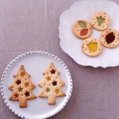 ステンドグラス&ガナッシュクッキーの作り方 手作りチョコレシピ 株式会社 明治