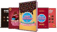 → 7 Receitas de Cones Trufados (Mais Dicas Exclusivas!) Snack Recipes, Snacks, Churros, Yummy Cookies, Gelato, Pop Tarts, Cereal, How To Make Money, Chocolates