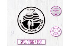 Kennedy Space Center Digital Download Decal by JumbleinkDesign on Etsy Kennedy Space Center, Car Stickers, Decals, Handmade Items, Cricut, Digital, Words, Etsy, Tags