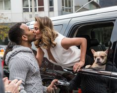 Chrissy Teigen and John Legend Show PDA in the Street