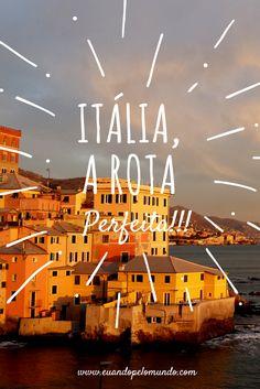 Um roteiro incrível para fazer pela Itália! http://www.euandopelomundo.com/blog/roteiro-dos-sonhos-na-italia