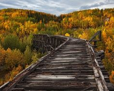 Abandoned Bridge, Alaska bluepueblo: photo via snowinoureyes