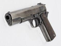 Oldie but goodie 1911 Pistol, Colt 1911, Handgun, Firearms, Springfield 45, Engraved 1911, Doomsday Survival, 45 Acp, Cool Guns