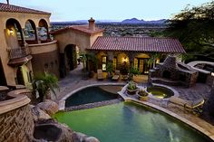 Scottsdale AZ Luxury in Ancala Country Club  12913 N 119TH Street    Beds: 7,   Baths: 11,    SqFt: 11548  Architectural design, craftsmanship & attention to detail. Stunning complex of privacy, breathtaking views of city lights, sunsets, & Camelback Mtn.