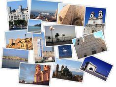 Cagliari, the city of Sun Sardinia, Landscapes, Polaroid Film, Island, Sun, City, Paisajes, Scenery, Islands