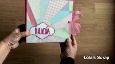 Baby Pink Album. DIY Scrapbook - YouTube