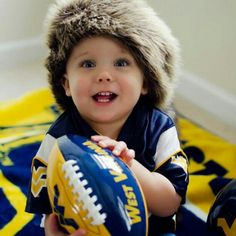 #WVU fans come in all ages! @sara_wheeler    (this one just happens to be my grandson!!!)