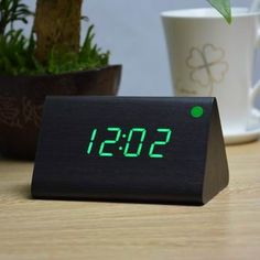 Home & Garden Alarm Clocks Confident New Arrive Ac Powe Plug Plastic Led Alarm Clock Led Display Desktop Digital Table Clocks Home Decoration Relogio Despertador Durable In Use