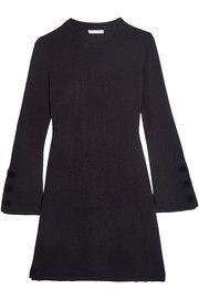 Wool mini dress