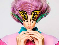 Psychedelic Collage Catalogs : Romance Was Born Spring/Summer 2014 Psychedelic Fashion, Psychedelic Art, Creepy Clown, Arte Pop, Australian Fashion, Fashion Labels, Editorial Fashion, Creative, Printing On Fabric