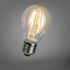 LED filament gloeilamp E27 4W 390lm dimbaar 9,95 euro
