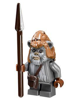 Minifigurine de Teebo du set 10236 Ewok Village Ultimate Collector Series