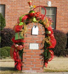 christmas mailbox decoration christmas decor pinterest christmas mailbox decorations decoration and holidays