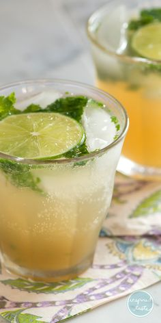 Classic rum mojito recipe with lots of fresh mint and lime. Plus, our tips for making it best. With Video!