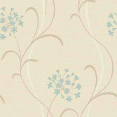 mia cream blue 599709 arthouse wallpapers a pretty stylised agapanthus lily