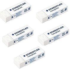 Staedtler Eraser Stationery Rasoplast Vinyl Phthalate /& Latex Free High-Quality