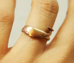 Whale Ring.<3