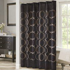 Keaton Embroidered Shower Curtain
