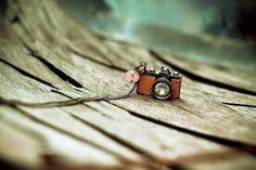 Cute camera necklace by harriett