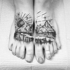 YES PLEASE WHY DO FOOT TATTS HAVE TO BE SO PAINFUL