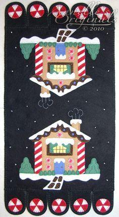 Christmas Winter Snowy Penny Rug Mat