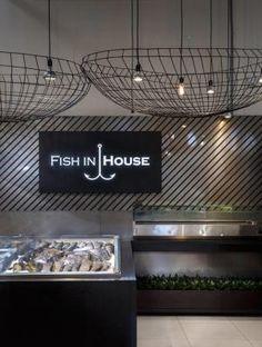Интерьер Fish in House в Днепропетровске