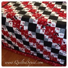 OU Sooners Quilt Pattern | And it's always a treat to fire up the Bernina for some embroidery ...