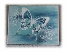CC467, Butterfly by Holstein - Cards and Paper Crafts at Splitcoaststampers